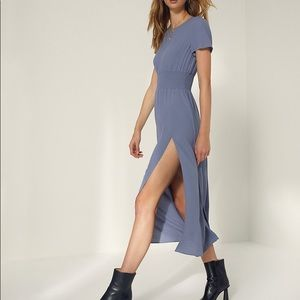 NWT Aritzia Wilfred Maxime dress with split Sz Med